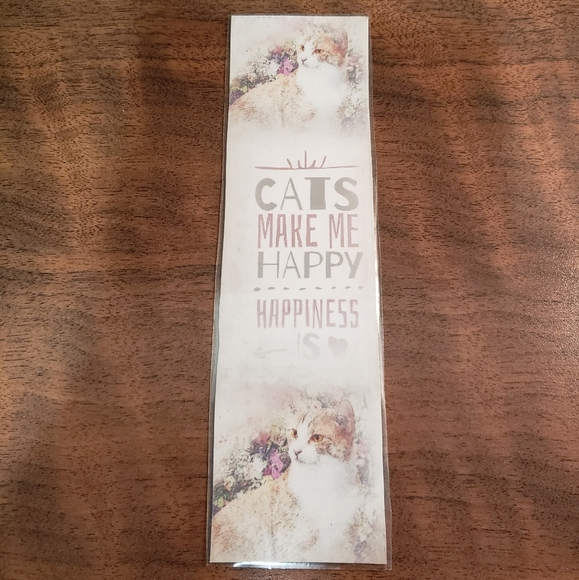 💖2/$15 💖  cat quote bookmark